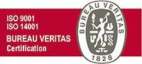 Logotipo ISO 9001 Y 14001