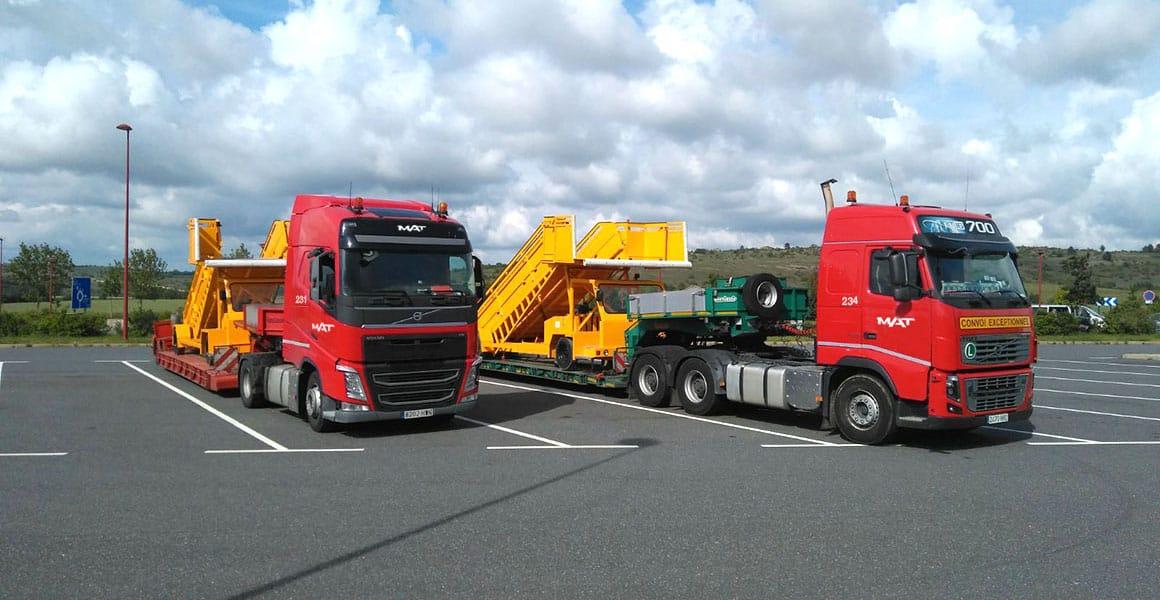 Transporte de mercancías especiales