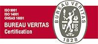 Logo ISO 9001, ISO 14001 y OHSAS 18001