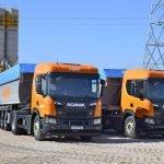 Camiones Grupo MAT para transporte de graneles