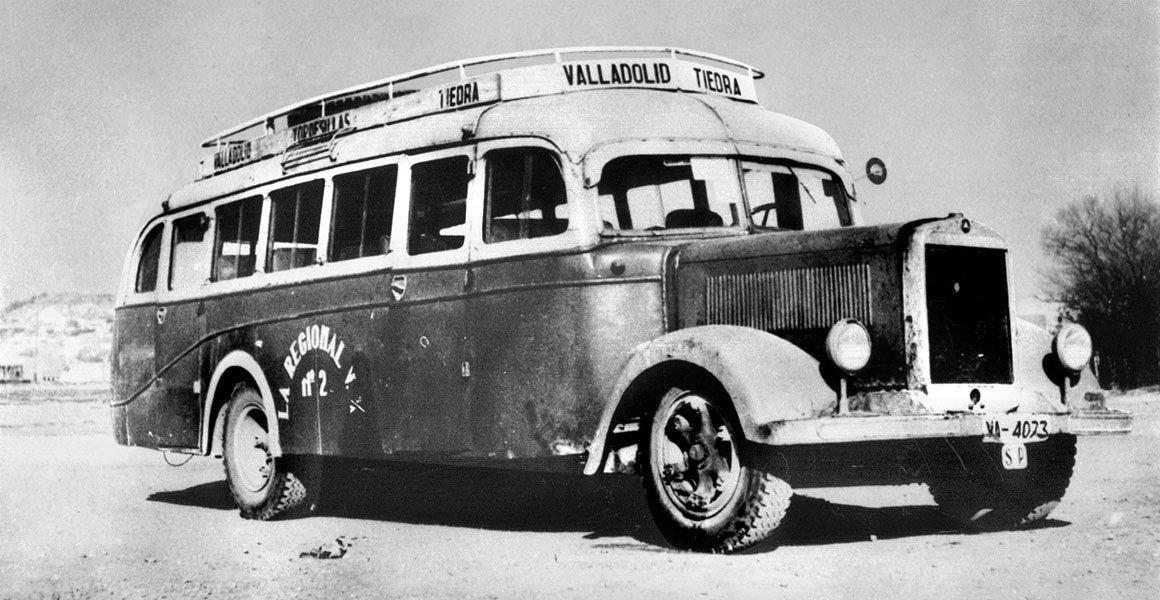 Autobús antiguo La Regional