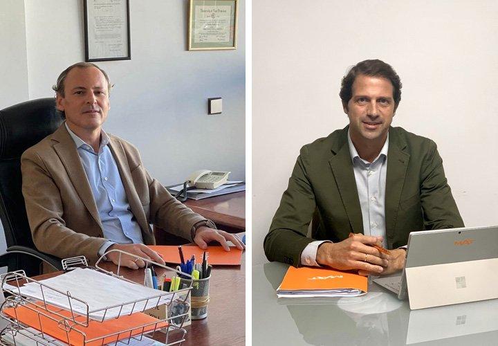 Avelino Traba y Jorge Álvarez, Subdirectores Generales de Grupo MAT